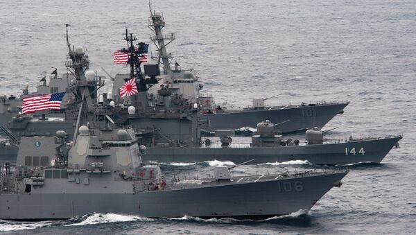 Tokyo's next generation naval destroyers will incorporate ballistic missile defense systems provided by the United States. - Sputnik International