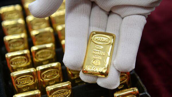 Gold manufacturing in Yekaterinburg, Russia - Sputnik International