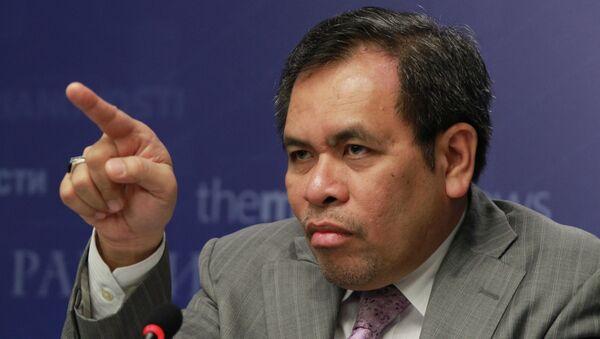 Indonesian ambassador to Russia gives news conference - Sputnik International