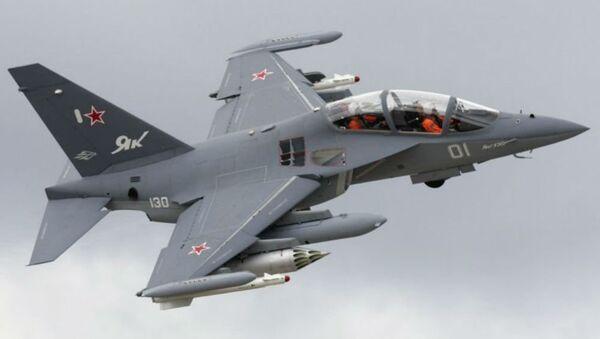 Russian-made Yak-130 trainer/strike aircraft - Sputnik International
