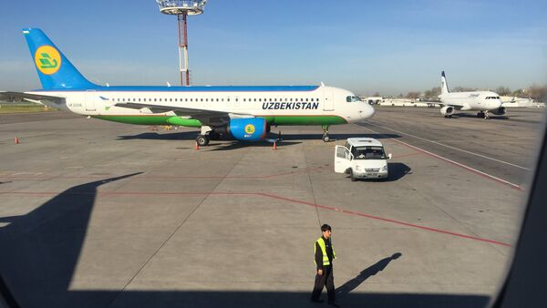 A320 Uzbekistan Airways - Sputnik International