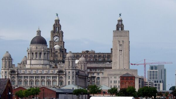 Liverpool Skyline - Sputnik International