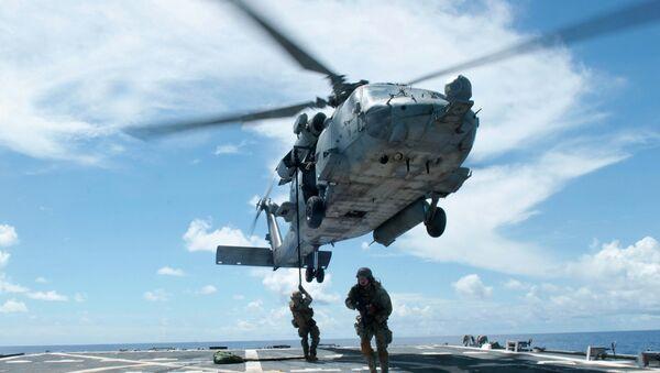 SH-60F Seahawk Helicopter - Sputnik International