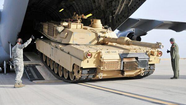 US tank M1 Abrams - Sputnik International