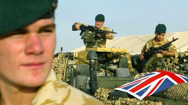 UK army in Iraq - Sputnik International