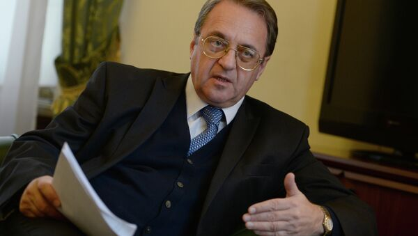Russian Deputy Foreign Minister and Special Presidential Representative for the Middle East Mikhail Bogdanov. (File) - Sputnik International