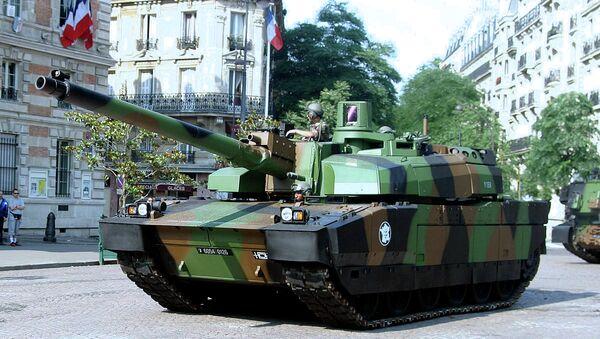 Leclerc tank - Sputnik International