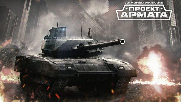 Armata project - Sputnik International