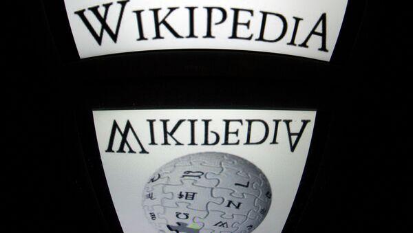 The Wikipedia logo - Sputnik International
