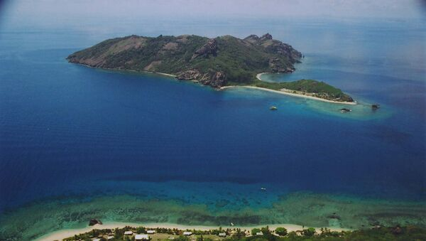 A satellite monitoring station in Fiji would provide india with an independent satellite tracking capacity. At present, India relies on the US and Australia to assist it with monitoring its satellites over the Pacific. Photo: Kuata Island, Fiji - Sputnik International