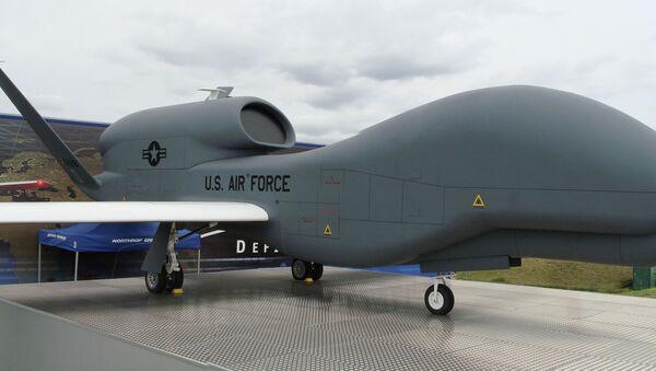 The RQ-4 Global Hawk UAV - Sputnik International