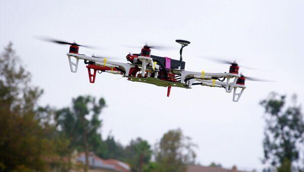 Drone test flight - Sputnik International