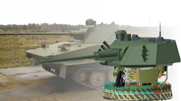The Central Research Institute Burevestnik-designed 57-mm A-220M gun, designed for use by armored vehicles. - Sputnik International