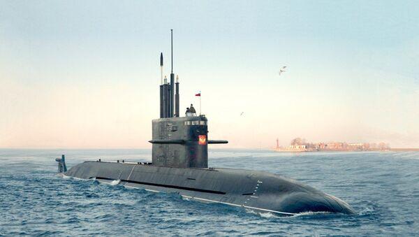 Amur 1650, Lada-class submarine - Sputnik International