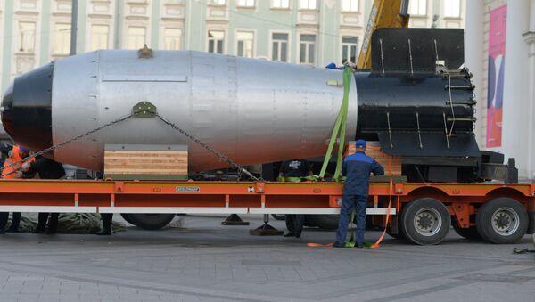 Tsar bomba arrives in Moscow - Sputnik International