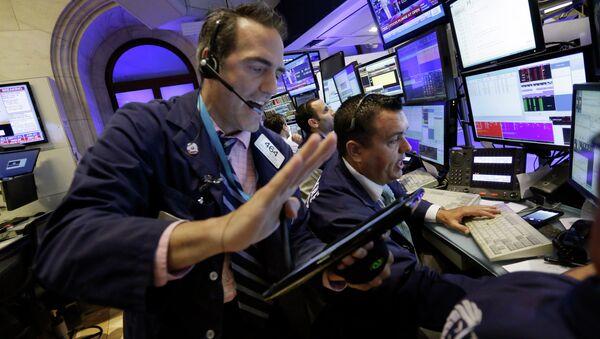 The New York Stock Exchange, Monday, Aug. 24, 2015. - Sputnik International