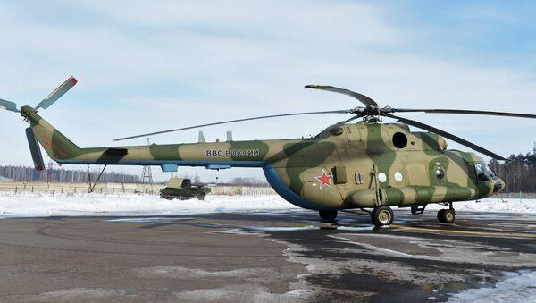 A Mi-8 MTV-5-1 helicopter - Sputnik International