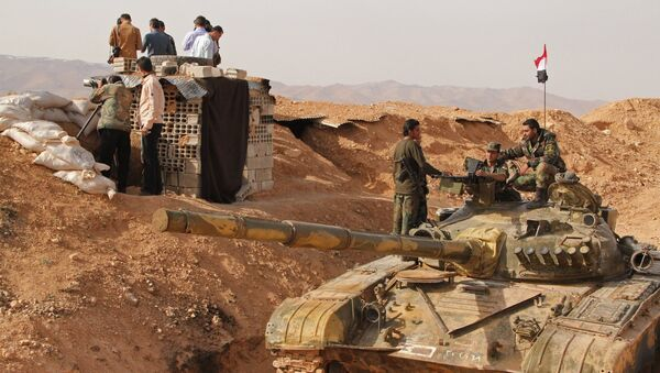 Syrian army soldiers - Sputnik International