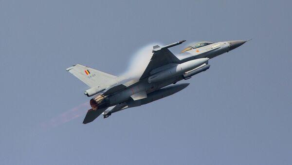 Belgian Air Force F-16 - Sputnik International