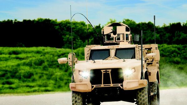 The Joint Light Tactical Vehicle by truck-maker Oshkosh Corp. - Sputnik International