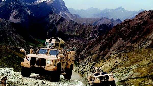 Oshkosh Corporation, the leading truck producer for the US Marines and Army, was up over 2.86%. - Sputnik International