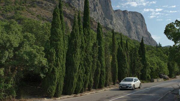 A road leading to Foros resort town in Crimea - Sputnik International