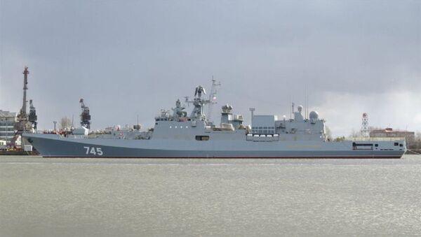 The Admiral Grigorovich frigate, designed for the Russian Black Sea Fleet - Sputnik International