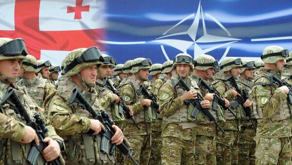 Georgian soldiers - Sputnik International