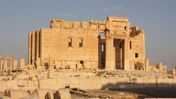 Palmyra, Temple of Bel - Sputnik International