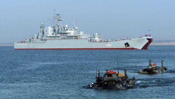 Sea Breeze-2008 military exercises in the Crimea - Sputnik International