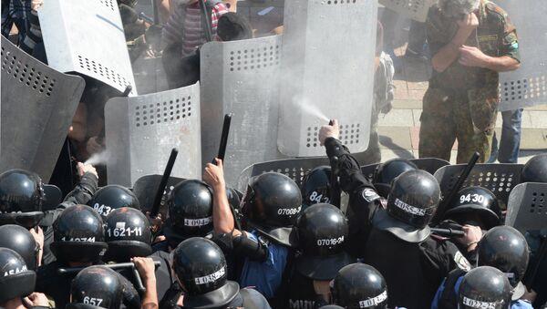 Protest rallies in Kiev - Sputnik International