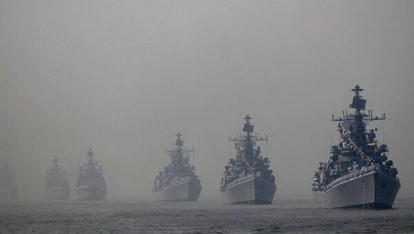 Indian navy ships - Sputnik International