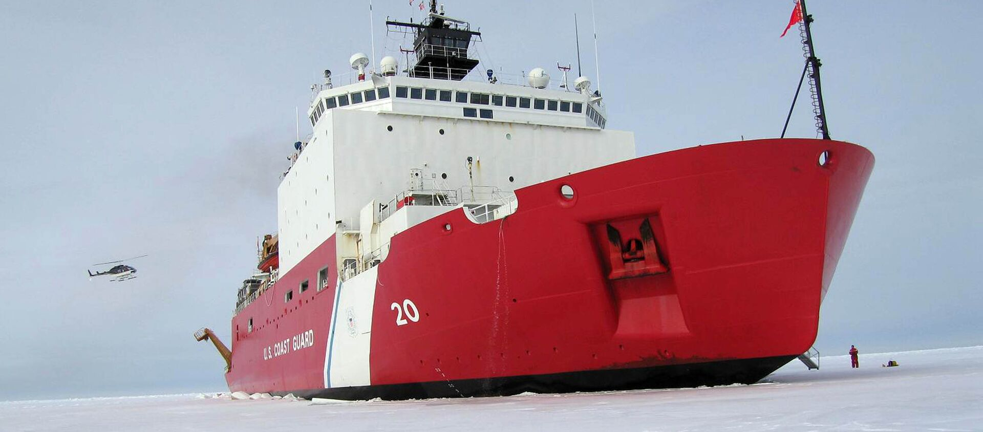 420-foot (128m) Coast Guard cutter Healy the largest and most technically advanced icebreaker in the US - Sputnik International, 1920, 29.06.2021