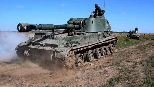 Military exercise in Kaliningrad Region - Sputnik International
