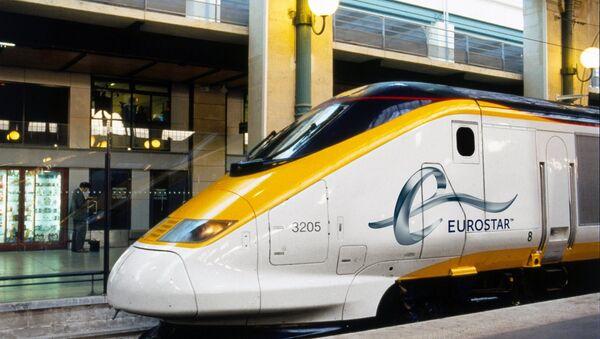 Eurostar Train at Paris Gare Du Nord Station (File) - Sputnik International