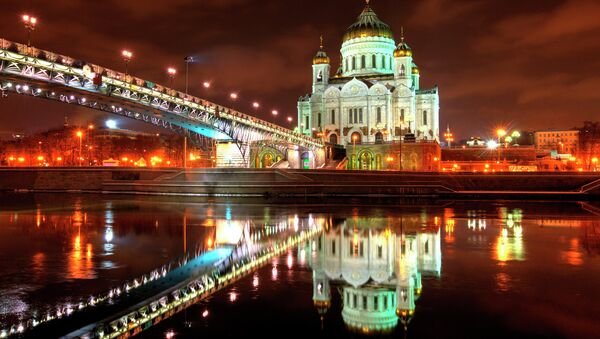 Christ the Savior Cathedral in Moscow - Sputnik International