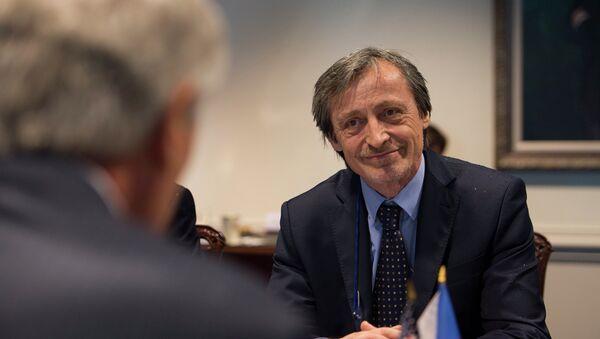 Czech Republic's Minister of Defense Martin Stropnicky - Sputnik International
