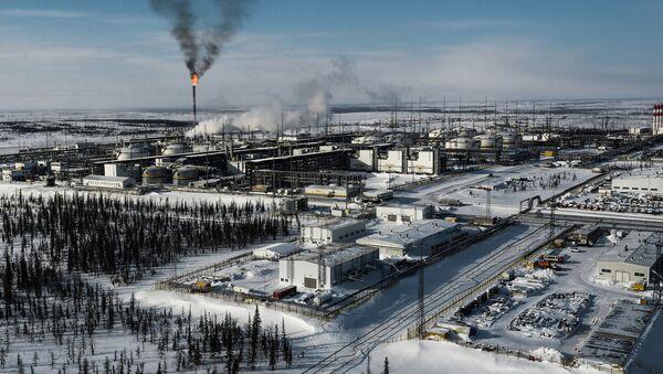 Vankor oil and gas field in Krasnoyarsk Territory - Sputnik International