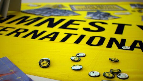 Amnesty International - Sputnik International