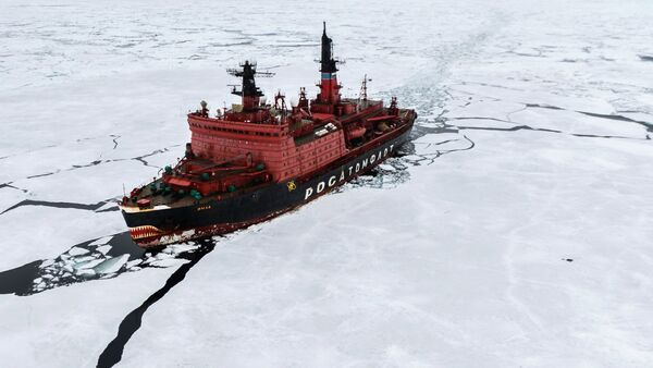 Kara-Winter 2015 Arctic expedition - Sputnik International