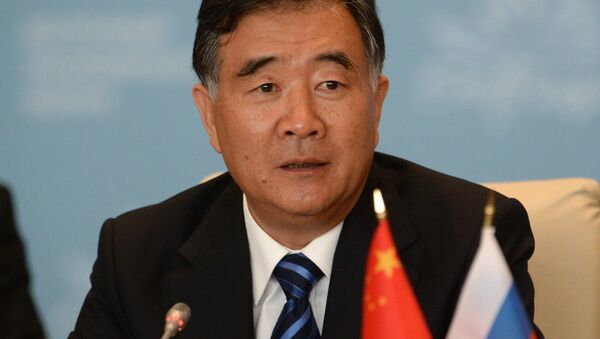 Vice Premier of the State Council of the People's Republic of China Wang Yang - Sputnik International