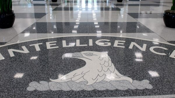 The Central Intelligence Agency (CIA) logo is displayed in the lobby of CIA Headquarters in Langley, Virginia, on August 14, 2008 - Sputnik International