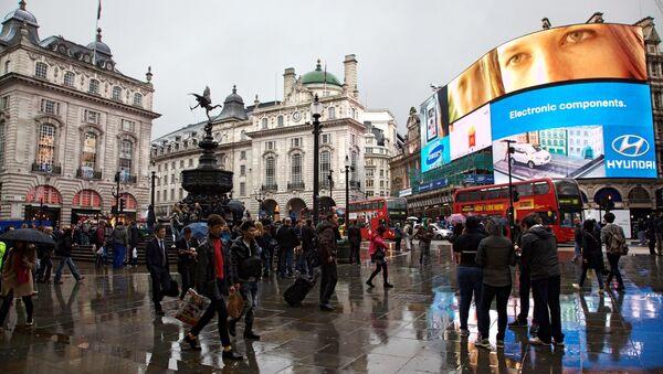 Piccadilly Circus, London - Sputnik International