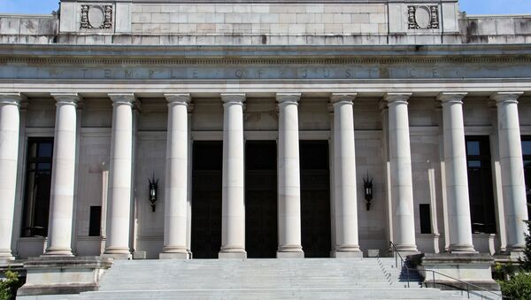 Historic 1920 Temple of Justice on the Capitol Campus in Olympia, Washington, which houses the Washington Supreme Court - Sputnik International