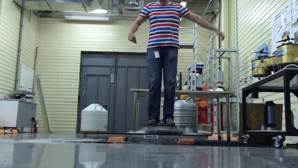 Hoverboard testing - Sputnik International