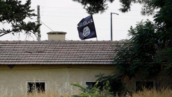 An Islamic State flag - Sputnik International