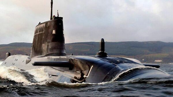 Royal Navy submarine - Sputnik International