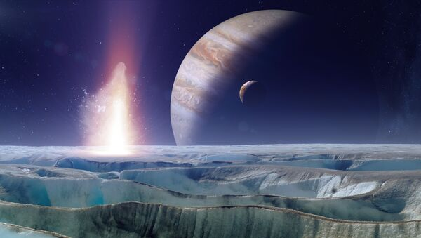 NASA plans to send a probe down to the surface of Europa, where life may exist in vast oceans beneath the ice. - Sputnik International