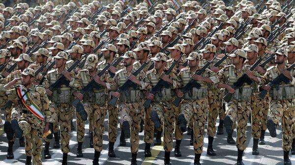 Iranian soldiers - Sputnik International