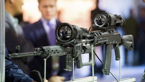 The 10th Russia Arms Expo international exhibition's opening - Sputnik International